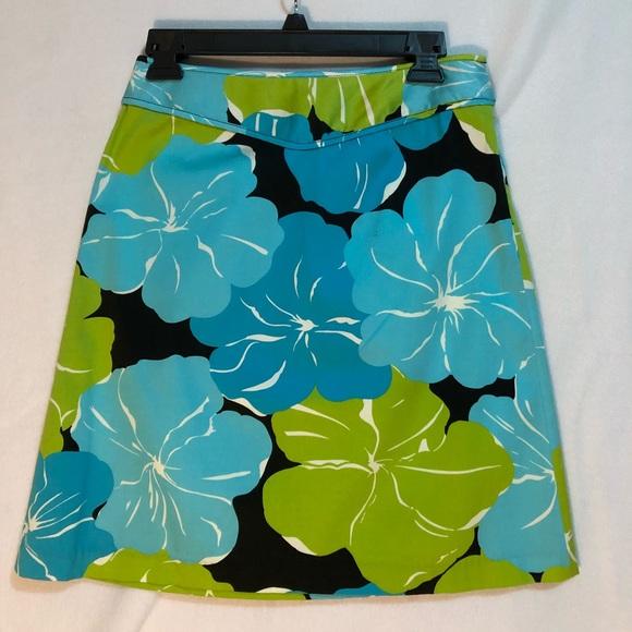 Grace Dane Lewis Workshop Dresses & Skirts - Floral Print Cotton Skirt